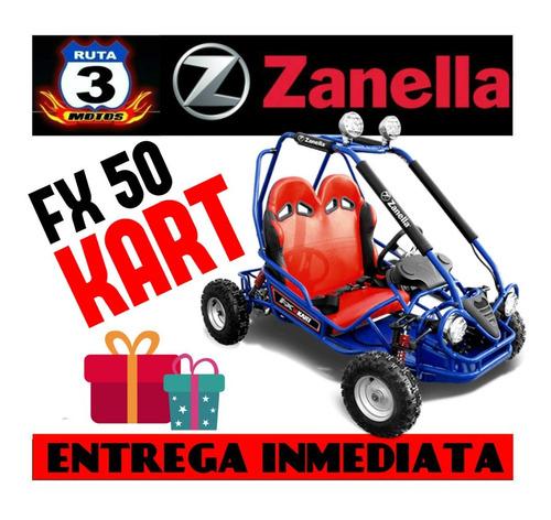karting zanella fx kart 50 0km 2018