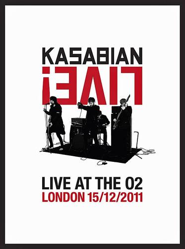 kasabian - live at the o2 [dvd+cd] digipack - importado