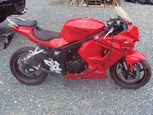 kasinski comet 250 cc gtr 2011 sucata p/ retirada de peças