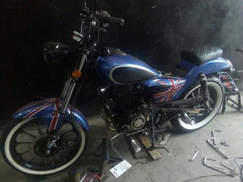 kasinski mirage 150 cc custom