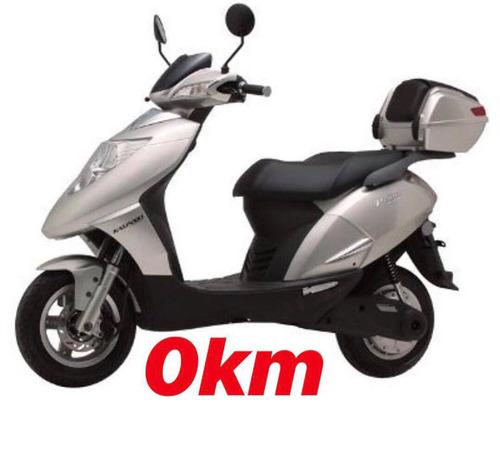 kasinski prima electra 2000 scooter eletrica - okm moto bike