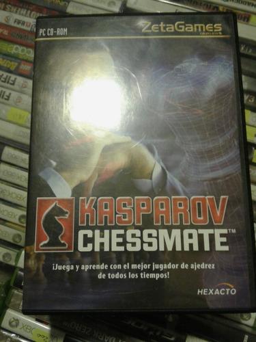 kasparov chessmate pc cd-rom