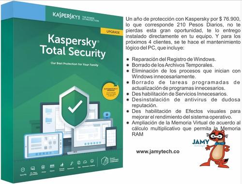 kasperky total security