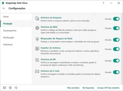 kaspersky anti virus - 10 usuarios 2019
