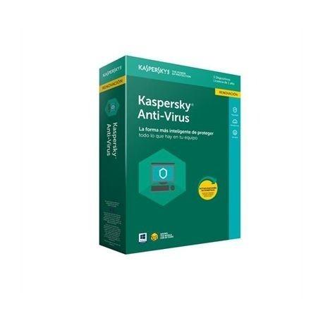 kaspersky anti-virus / 5 usuarios/ 1 año / caja kl1171zbefs