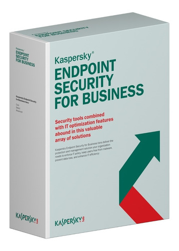 kaspersky endpoint security 1 servidor entrega imediata