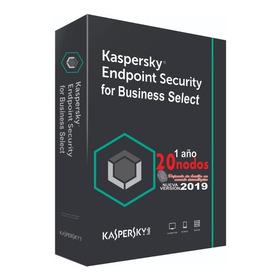 Kaspersky Endpoint Security Select 20 Nodos
