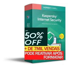 Kaspersky Internet Security 2019 3 Pc 1 Ano Entrega Em 30min