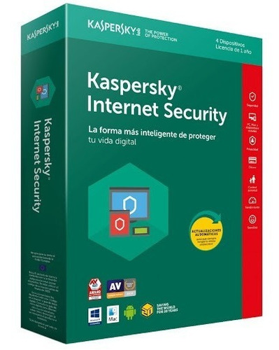 kaspersky internet security 2020 3pc dispositivo 1 año nuevo