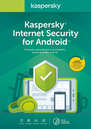 kaspersky internet security para smartphone /tablet android