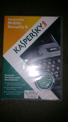 kaspersky mobile security 9 - novo e lacrado