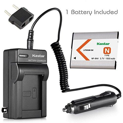 kastar 1x bater mas cargador sony npbn1 sony cybershot dscw8