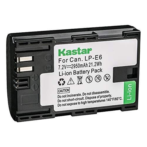 kastar lp-e6 reemplazo baterí  cámara canon marca eos 5d