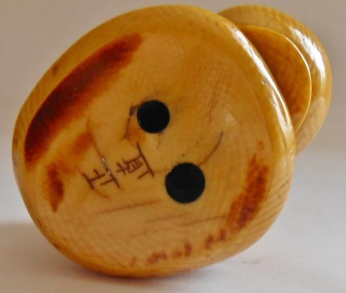 katabori japanese netsuke antigo