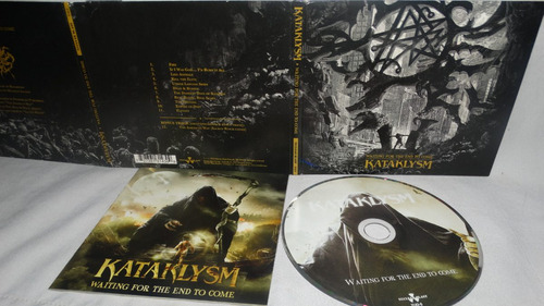 kataklysm - waiting for the end to come (digipack)