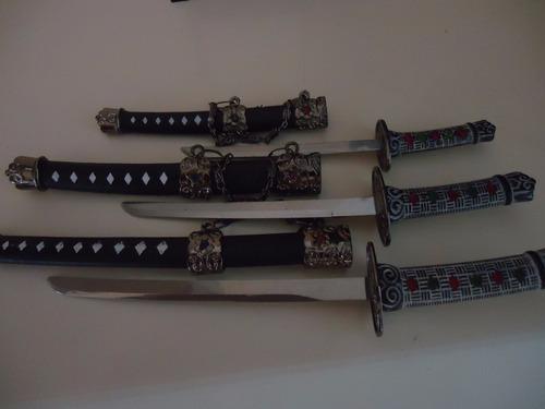 katana com espadas com