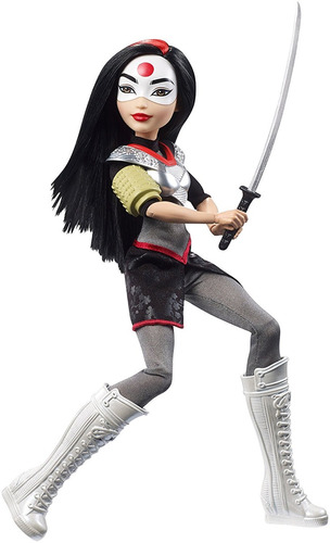 katana dc hero original mattel muñeca 30cm