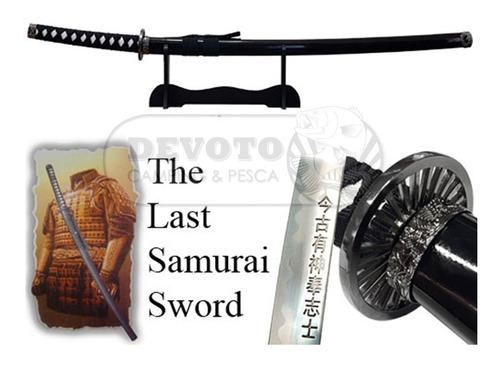 katana el último samurai hoja 75cm exhibidor vaina madera