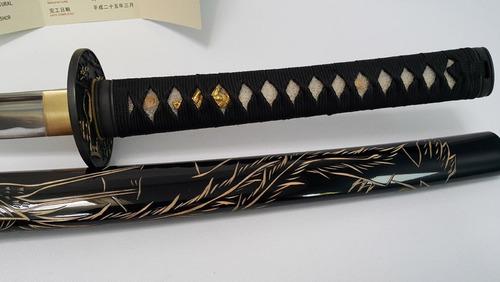 katana funcional con filo phoenix grabado no incluye funda