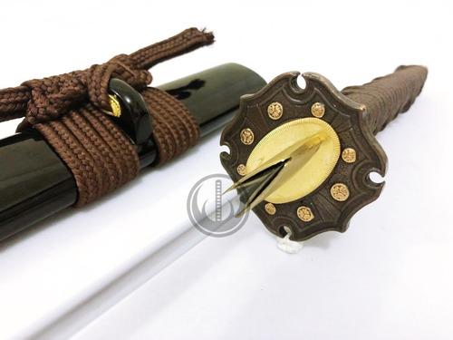 katana militar gunto segunda guerra samurai t10 afiada