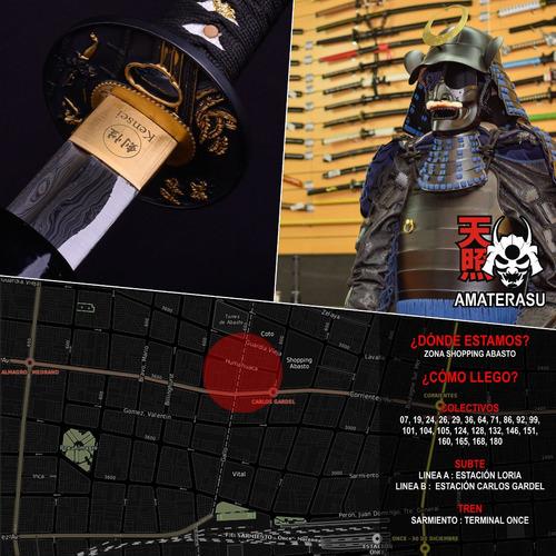 katana ninja tou kensei fukiya + cerbatana hoja pavonada