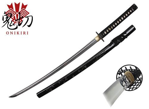 katana onikiri bambu con certificado 100% funcional espadas
