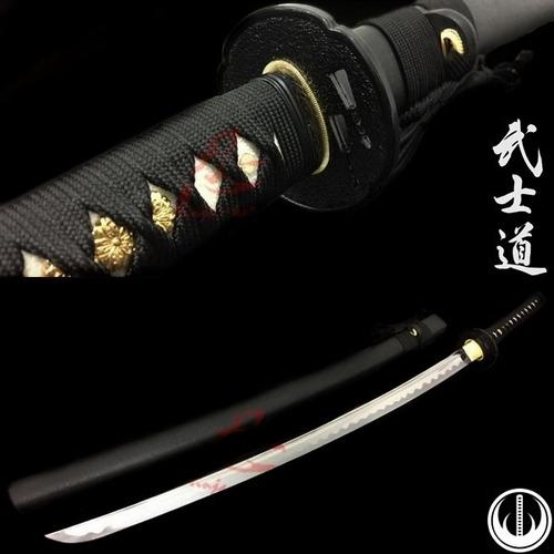 katana samurai afiada tradicional original corte aço 1060