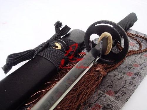 katana tradicional aço dobrado forjada espada samurai