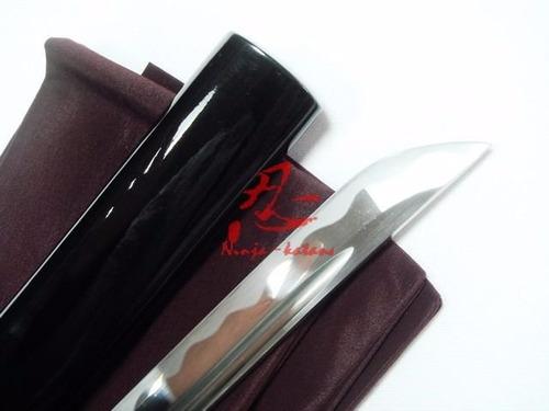 katana tradicional com corte espada samurai afiada aço 1060