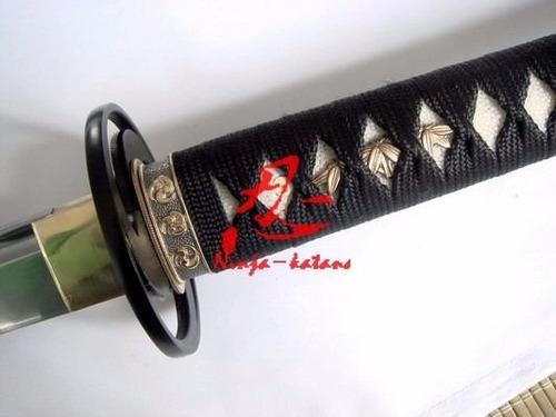 katana tradicional japonesa samurai com corte afiada iaido
