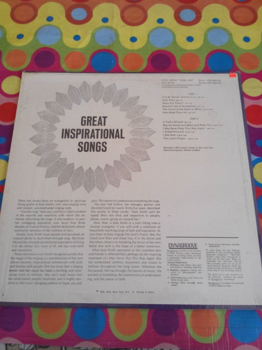 kate smith lp how great thou art. importado u.s.a.