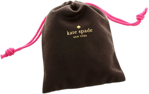 kate spade new york en el último collar pendiente de plata,