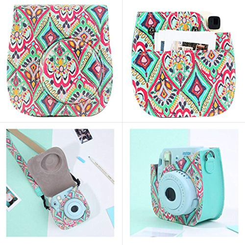 katia camera case bag para fujifilm instax
