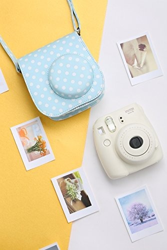 katia camera case para fujifilm instax mini 9 instant camera