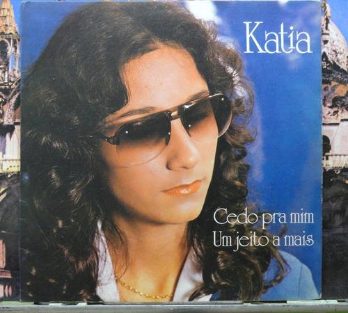 katia cedo pra mim  compacto vinil cbs 1980  estéreo