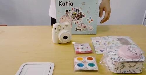 katia juego para camara instantanea fujifilm instax