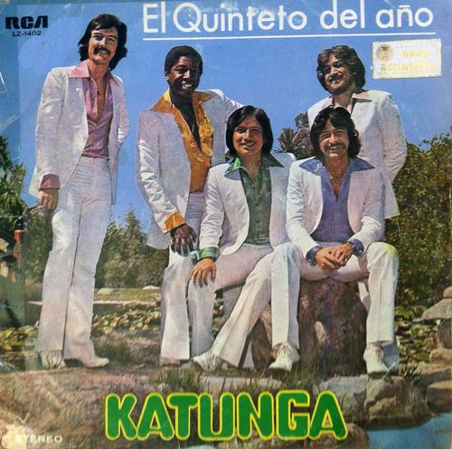 katunga - el quinteto del año. disco vinilo.