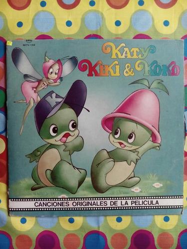 katy kiki y koko lp '88  canciones originales de la pelicula