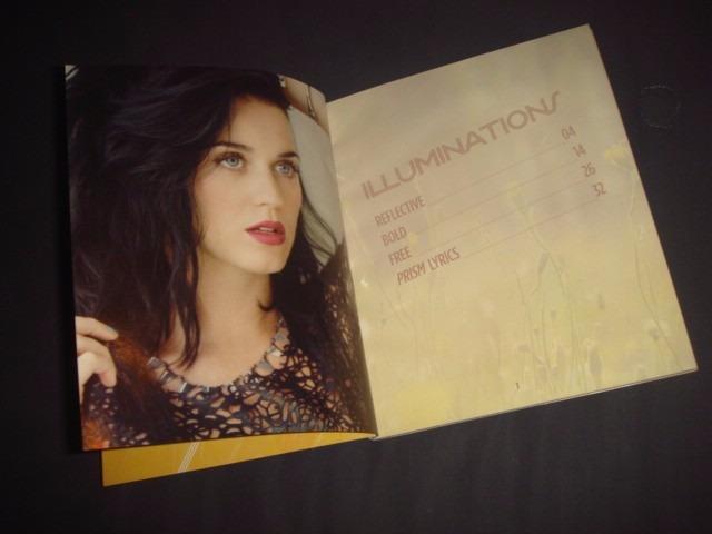 Katy Perry Limited Edition Zinepak Cd Stickers Tatuajes 54900