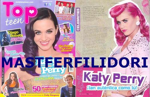 katy perry revista top teen de agosto 2012
