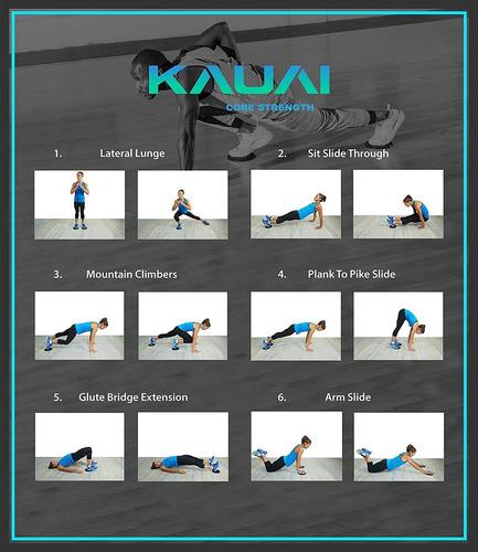 Kauai Sliders Core Sliders Fitness Workout Planeadores De