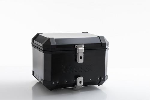kawa sw motech trax evo kit top case moto plato universal