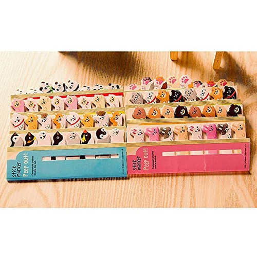 kawaii bloc de notas suministros pegajosos notepaper animal