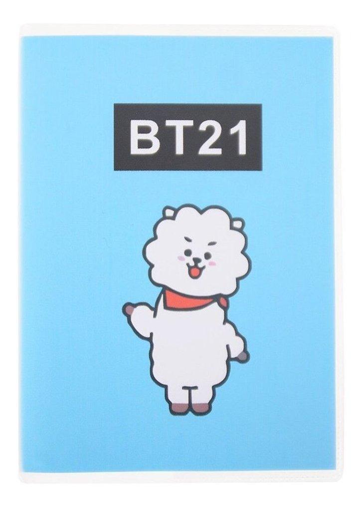 Kawaii Cartoon Cover Notebook Notebook Kpop Bts Boy Travel J