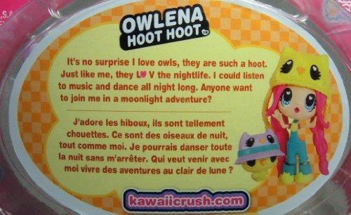 kawaii crush owlena hoot hoot coleccion de mascotas mimosas