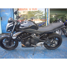 Kawasaki Er 6 N Ano 2010 Preta R$ 16.999 Nova Troca