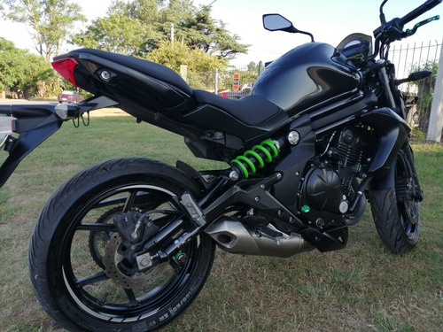kawasaki er 6n 650cc impecable estado y con extras - aerocar