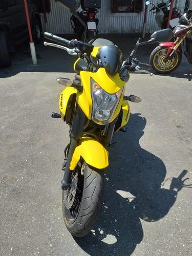 kawasaki er-6n amarela 2013