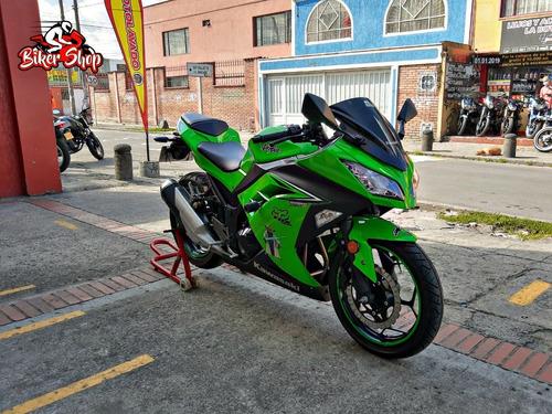 kawasaki  ex 300 modelo 2016 excelente estado biker shop
