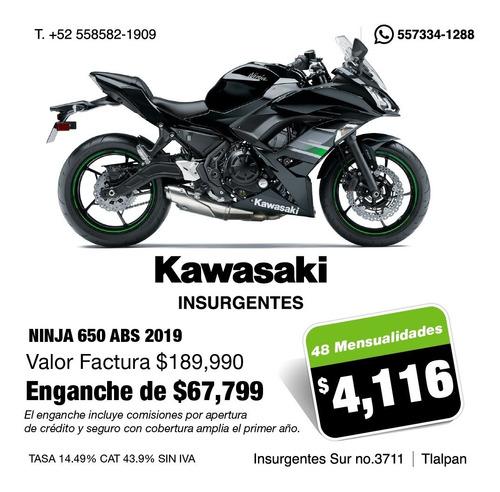 kawasaki insurgentes ninja 650 abs 2019
